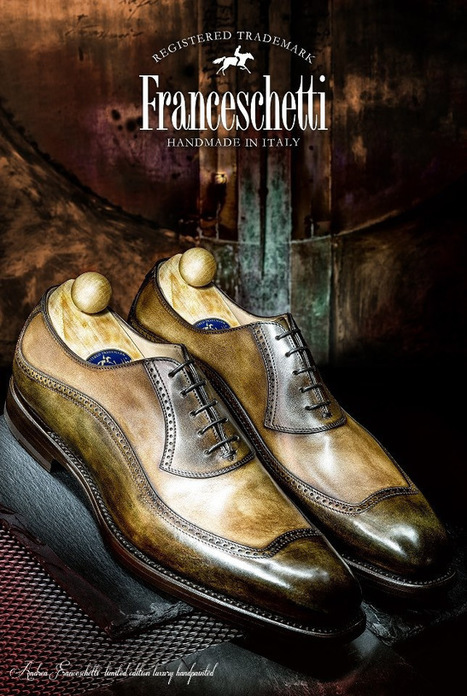 """Luxury Handpainted"" Franceschetti Shoes 