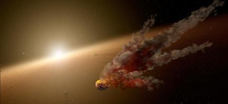 Une chute d'astéroïdes a fait bouillir les océans il y a 3,3 milliards d'années | Aux origines | Scoop.it