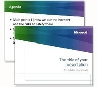 Microsoft Security PowerPoint Presentations | 21st Century Tools for Teaching-People and Learners | Scoop.it
