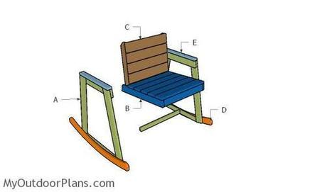 Rocking Chair Plans | MyOutdoorPlans | Free Woodworking Plans and Projects, DIY Shed, Wooden Playhouse, Pergola, Bbq | Garden Plans | Scoop.it