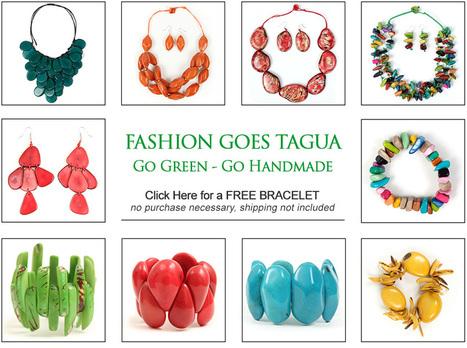 Tagua Neckalces | Organic Tagua Jewelry | Scoop.it