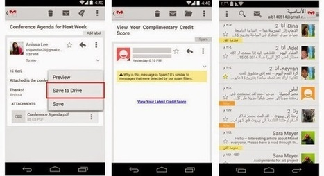 Gmail for Android V4.8 review | Mixedmisc.com | Latest technology news, Tips and tricks | Scoop.it