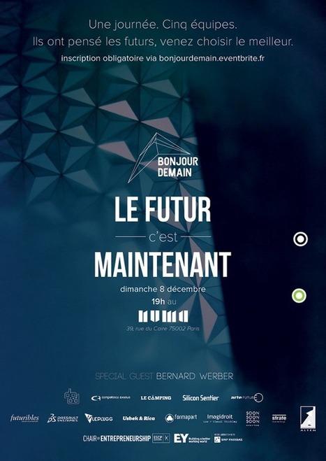 Bonjour Demain - L'affiche by Bonjour Demain | EI4-5 & Masters | Scoop.it