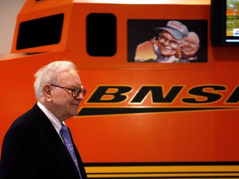 These 3 charts explain why Warren Buffett loves railroads   Global railway news   Scoop.it