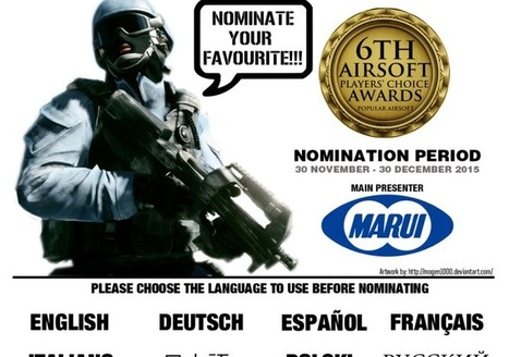 LAST CHANCE to Nominate - Players Choice Awards POPULAR AIRSOFT | Airsoft Showoffs | Scoop.it