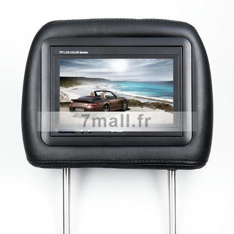 €140.52 DVD de voiture Appuie-tête 7 pouces TFT LCD lecteur - 7mall.fr | 7mall | Scoop.it