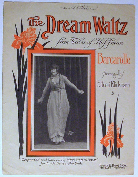 The Dream Waltz Antique 1914 Sheet Music from the Opera Tales of Hoffman | Daily Paper | Scoop.it