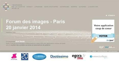 Rendez-vous : premiers Trophées de la Santé Mobile 2014 | DigitPharma | Scoop.it