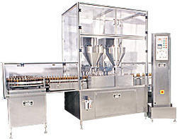 Pharmaceutical Powder Filling Machine  is fabricated with the stainless steel | adamsandrew | Scoop.it