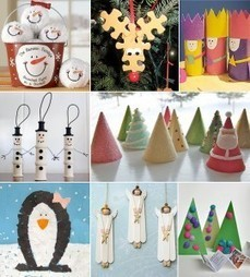Easy and Simple Christmas Crafts – Christmas Craft Ideas | Advent and Christmas | Scoop.it