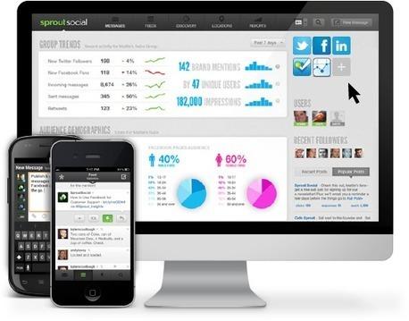 Social Media Management, Twitter Tools, Social CRM   Sprout Social   New Twitter Tools   Scoop.it