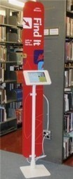 """MIT Libraries News » Blog Archive » New """"Find It"""" information kiosk unveiled at Hayden library 