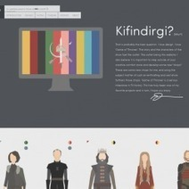 Most Deliciously Awesome: A Graphic Tribute To 'Game Of Thrones' [keep scrolling!] Visual.ly | Young Adult and Children's Stories | Scoop.it