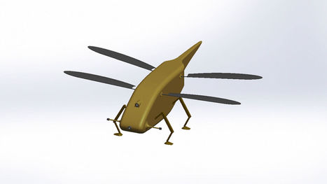 Insect-Sized Drone Will Spy On Terrorists | #Drones  | 21st Century Innovative Technologies and Developments as also discoveries, curiosity ( insolite)... | Scoop.it