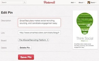 Build Your Employer Brand on Pinterest | SmartRecruiters Blog | Aimaro 3.0 | Scoop.it