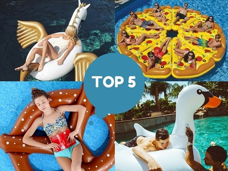 TOP 5 des bouées tendances et insolites - Tendances-Blook | Matelas Gonflable | Scoop.it