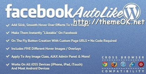 Download Plugin Facebook Auto Like for WordPress — ThemeOK.net | hipi | Scoop.it