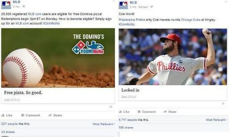 5 Reasons Why MLB's #DomiNoNo Activation is a Home Run | Activations digitales 2.0 et sport | Scoop.it