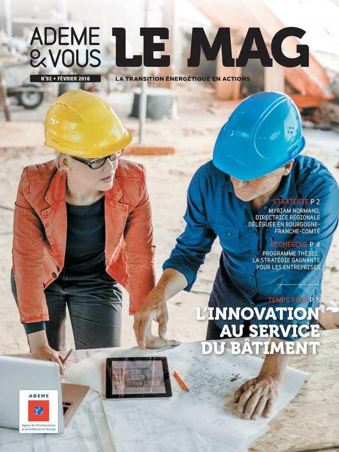 L'innovation au service du bâtiment, dernier MAG de l'ADEME