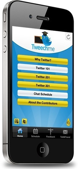 Tweechme is proud to announce its very own Mobile App on iOS and Android App | Meet Them Where They Are: Using The Student's Technology To Teach | Scoop.it