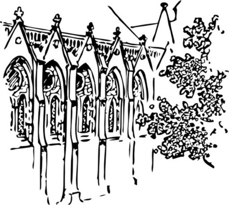Catholic Faith Education: Coloring pages: Temple of Jerusalem, Cathedrals, Churches and Stained Glass Windows | Resources for Catholic Faith Education | Scoop.it