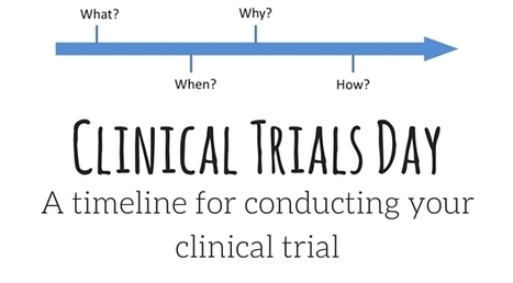 A timeline for conducting your clinical trial | Ebola News and Views | Scoop.it