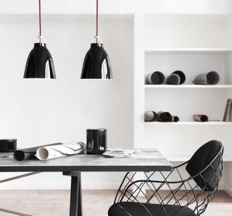 Lámparas, de dos en dos y en blanco y negro para un ambiente íntimo | Cuines | Scoop.it