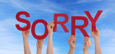 The Power of an Apology | Managing the Transition | Scoop.it