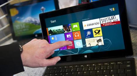 Surface Pro: Neues Microsoft-Tablet in Deutschland im Handel - IT + Telekommunikation - Technologie - Handelsblatt | Unterricht mit Medien | Scoop.it