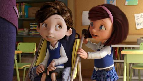 Un niño muy especial. Tráiler del corto 'Cuerdas', Premios Goya - RTVE.es | Terapias con animales en niños con TEA | Scoop.it