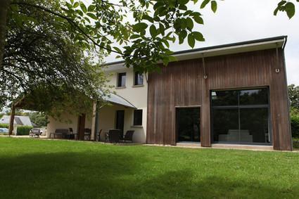 [inspiration] Maison bois métal et béton à Pluvigner (56) | architecture..., Maisons bois & bioclimatiques | Scoop.it