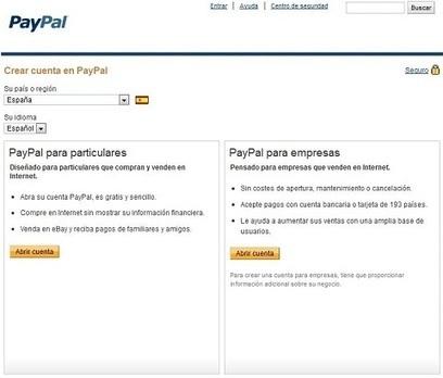 Cómo abrir una cuenta PayPal | Tips&Tricks | Scoop.it