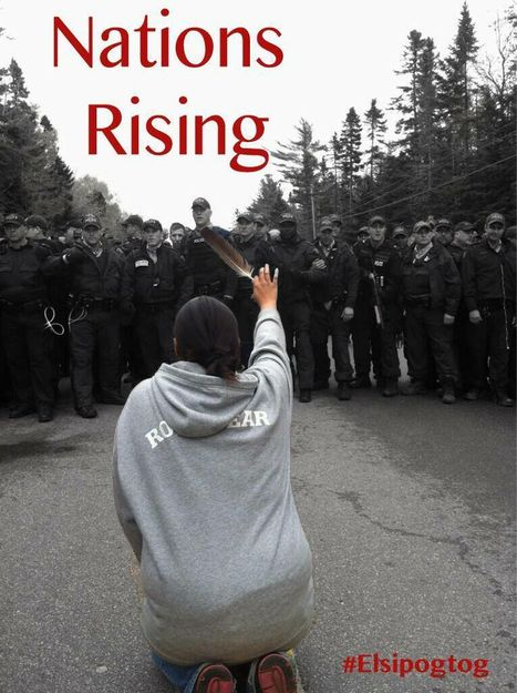 First Nations clash with police at anti-fracking protest | Al Jazeera America   #NationsRising #Elsipogtog #IdleNoMore | IDLE NO MORE WISCONSIN | Scoop.it