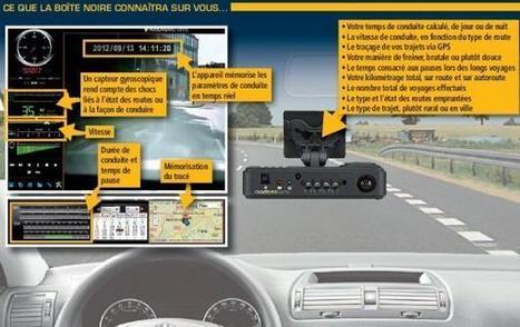 Des boîtes noires connectées bientôt dans vos voitures… pour tout savoir de votre manière de conduire! | SandyPims | Scoop.it