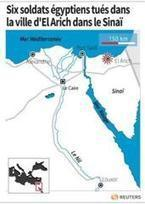 Six soldats égyptiens tués par une explosion dans le Sinaï   Égypt-actus   Scoop.it