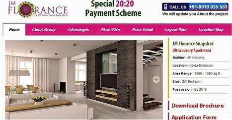 JM Florance Noida Extension | Home Floor Plans Noida | JM Florance Noida | JM Florance | Scoop.it