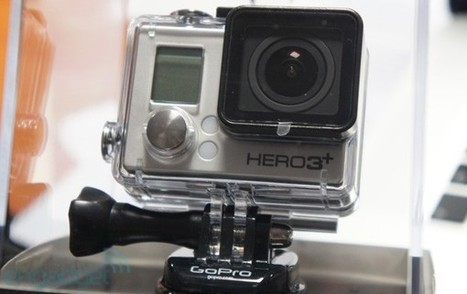 GoPro reveals Hero3+: smaller, sharper, faster and available now | GizmoGDGT.com | Scoop.it