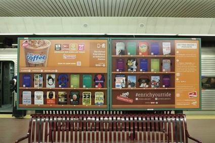 Dans le métro aussi, la free library de Philadelphie fait recette | Veille bibliothéconomique | Scoop.it
