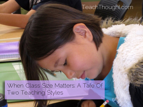 When Class Size Matters: A Tale Of Two Teaching Styles | Good to know | Scoop.it