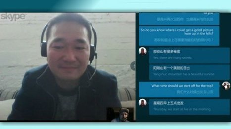 Skype Translator for Desktop Here, Translates 6 Languages in Voice | Connected Learning | Scoop.it