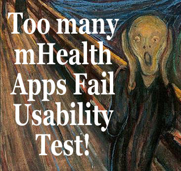Too Many mHealth Apps Are Failing the Usability Test | Health promotion. Social marketing | Scoop.it