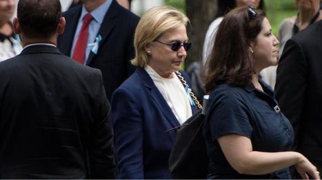 Commémoration du 11 septembre : Hillary Clinton aurait fait un malaise et aurait été évacuée   Think outside the Box   Scoop.it