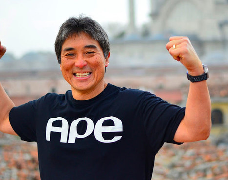 Author, publisher, entrepreneur: Guy Kawasaki on apes, authors, and what it means to write books today | Entrepreneurship, Innovation | Scoop.it