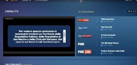 Sky Go Italia outside Italy - Unblock/Watch via VPN - The VPN Guru | VPN Unblock and Smart DNS | Scoop.it