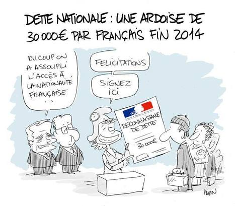 Dette nationale | Le monde est flou | Scoop.it