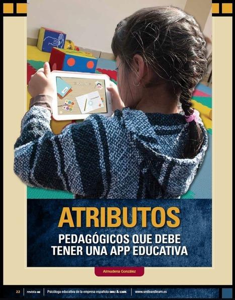 Atributos pedagógicos que debe tener una app educativa | ESL EFL teaching resources | Scoop.it