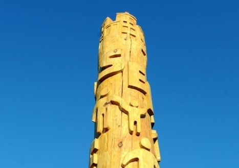 Project's interactive totem pole set up with a series of QR codes - Latest news - Scotsman.com | Archaeology News | Scoop.it