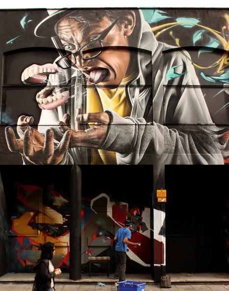 SmugOne e suas impressionantes obras de Street Art | Urban Life | Scoop.it