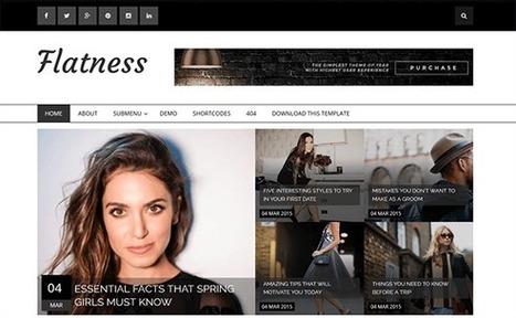 FLATNESS | Blogger themes | Scoop.it