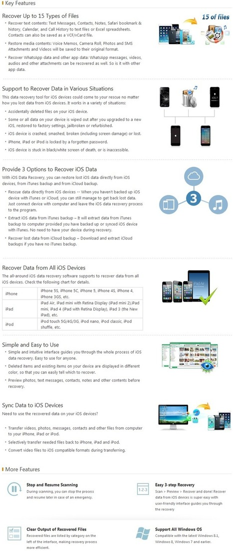 62% Off - Tenorshare iOS Data Recovery for Windows with Discount Coupon code   Data Recovery Software Coupon Codes   Scoop.it